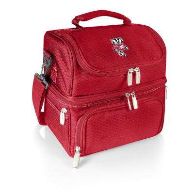 Pranzo Red Wisconsin Badgers Lunch Bag