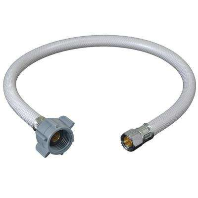 3/8 in. Compression x 1/2 in. FIP x 20 in. Vinyl Faucet Connector