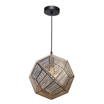 Skars 1-Light Black Pendant