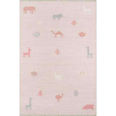Porter Pink 7 Ft 6 In X 9 Area