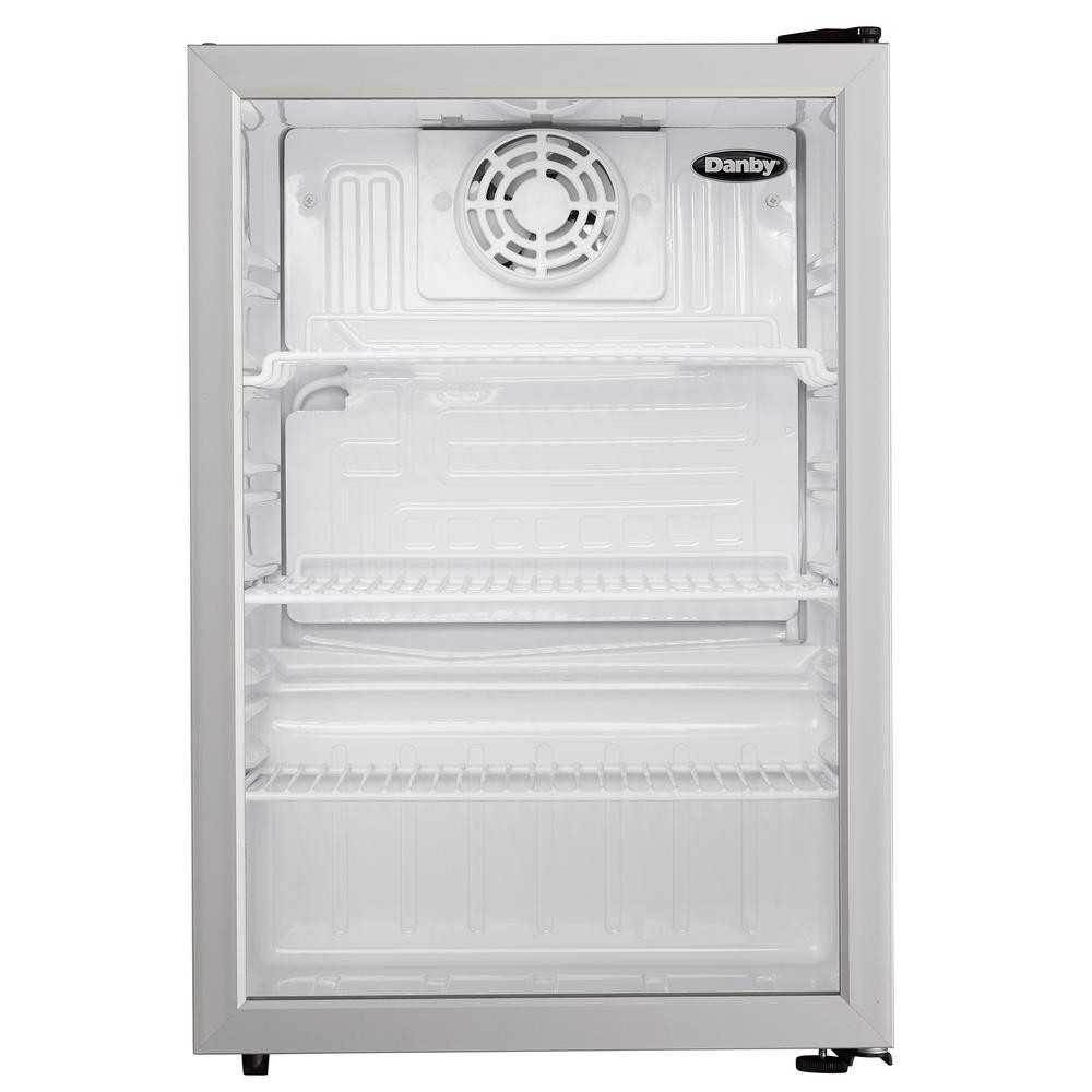 Danby 17.5 in. W 2.6 cu. ft. Commercial Refrigerator in Black