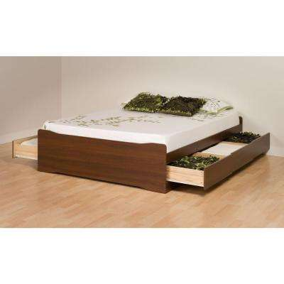 Coal Harbor Queen Wood Storage Bed