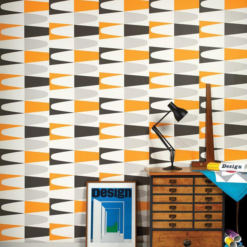 Orange Carnival Zest Wallpaper