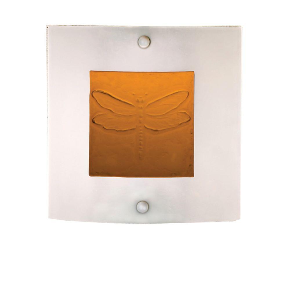 Illumine 1 Light Wings Fused Wall Sconce