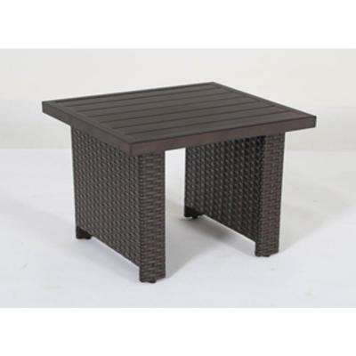 palm grove aluminum outdoor side table - Commercial Patio Furniture