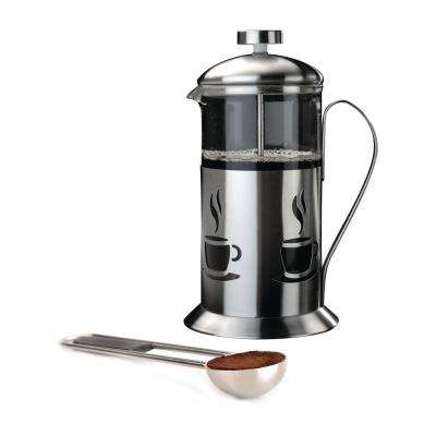 Studio 2.5-Cup French Press with Clipping Coffee Scoop