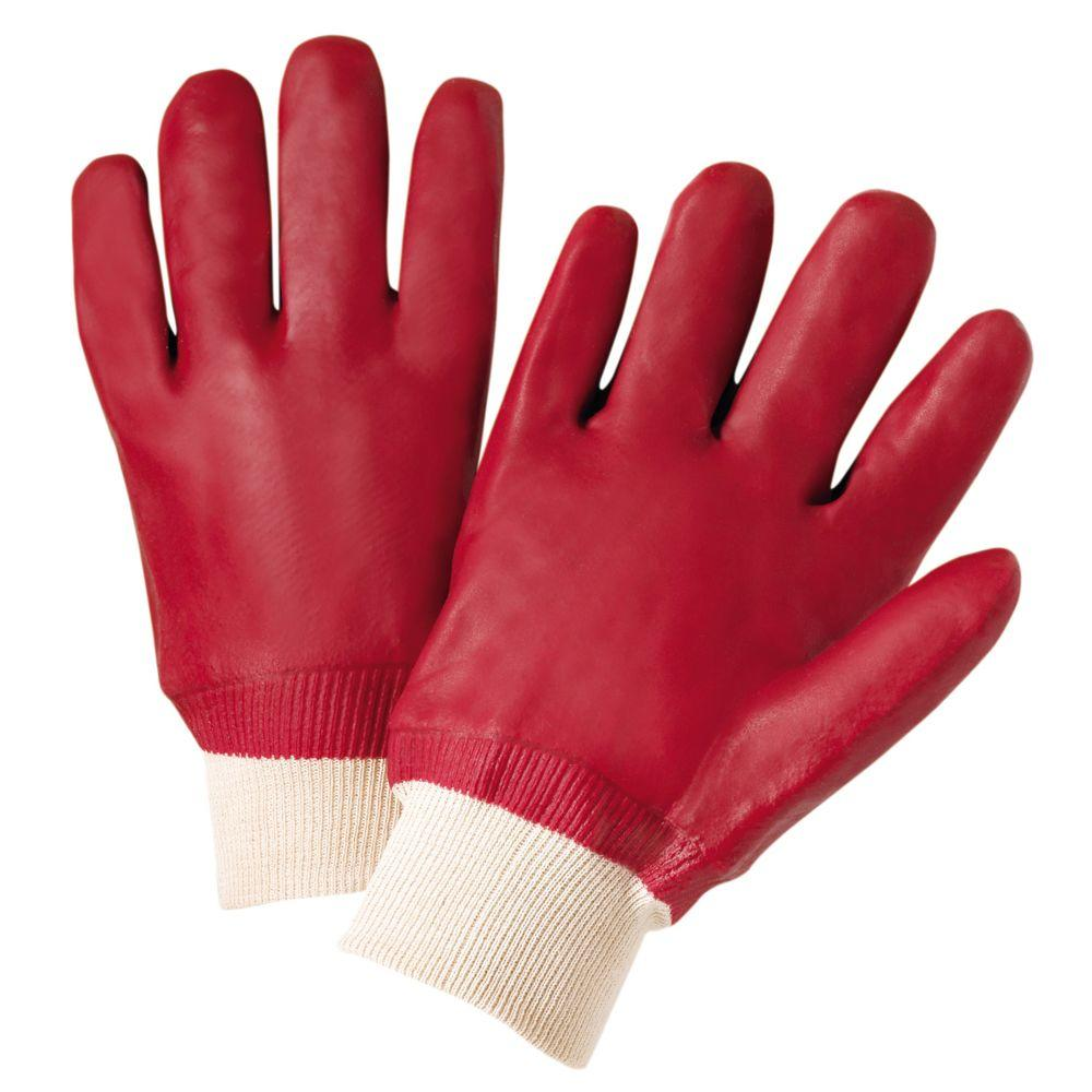 West Chester Large PVC-Coated Chemical Work Gloves