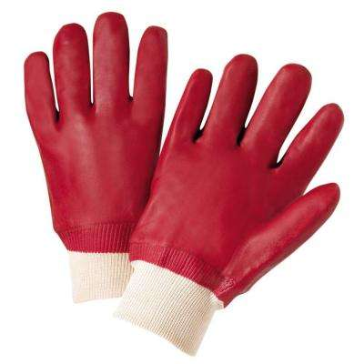 Large PVC-Coated Chemical Work Gloves