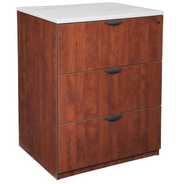 Regency Legacy Cherry Stand Up Lateral File Without Top