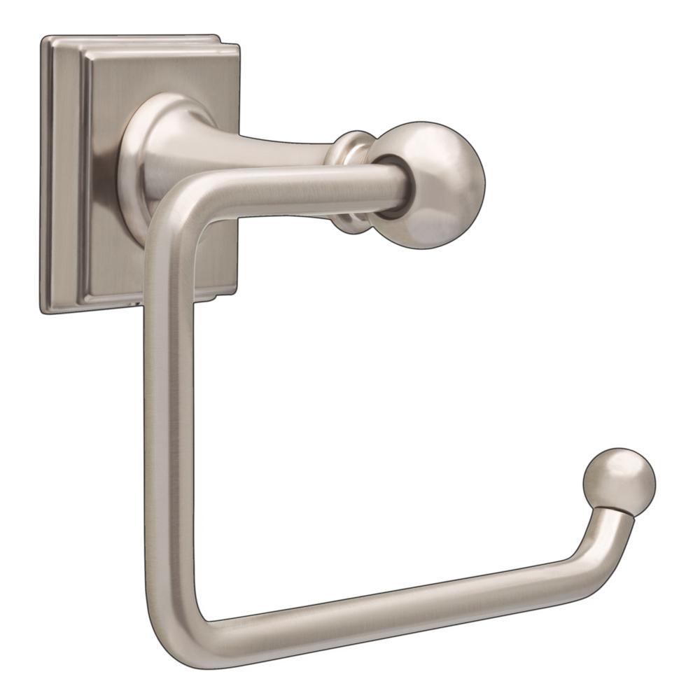 Teague Euro Toilet Paper Holder in SpotShield Brushed Nickel