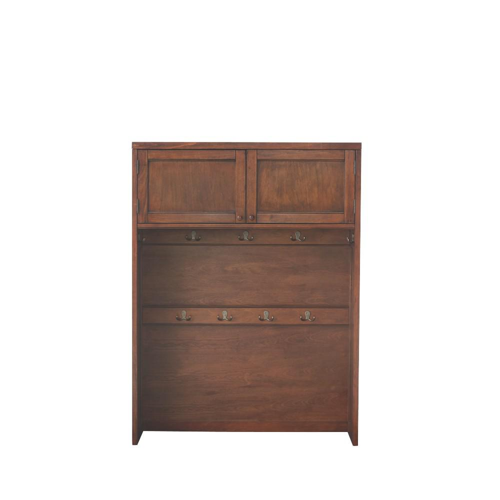 53.5 in. x 40 in. Hutch in Sequoia