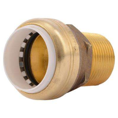 1 in. Push-to-Connect PVC IPS x 1 in. MIP Brass Adapter Fitting