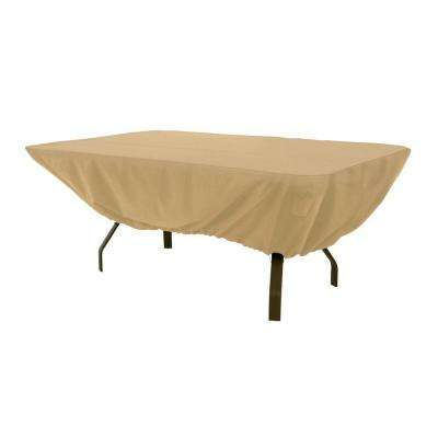 Terrazzo Rectangular Patio Table Cover