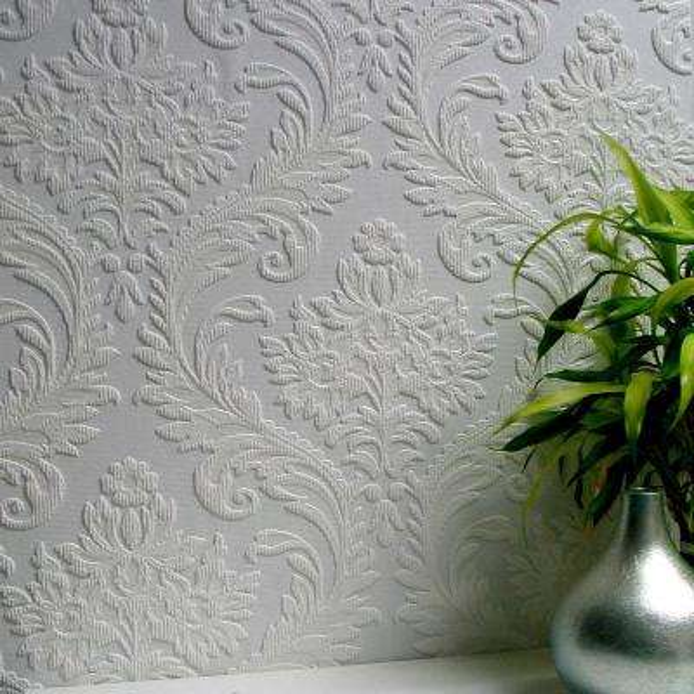 High Trad Paintable Textured Vinyl Wallpaper Sample