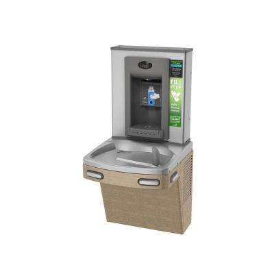 Versacooler II PG8EBF High Efficiency Hands Free Bottler Filler ADA Sandstone Finish Drinking Fountain