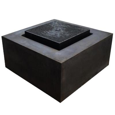 Pierre Fiberglass Reinforced Concrete Fountain
