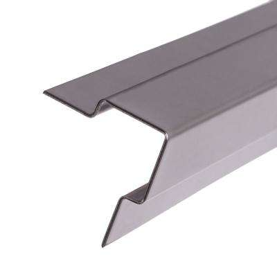 5 ft. Standard Stair Nosing in Stainless Steel for Carpet (1/4 in. Profile)