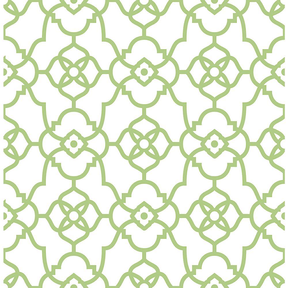 Kitchen Wallpaper Green: Brewster Kitchen Bath Bed Resource III Green Vine Trail