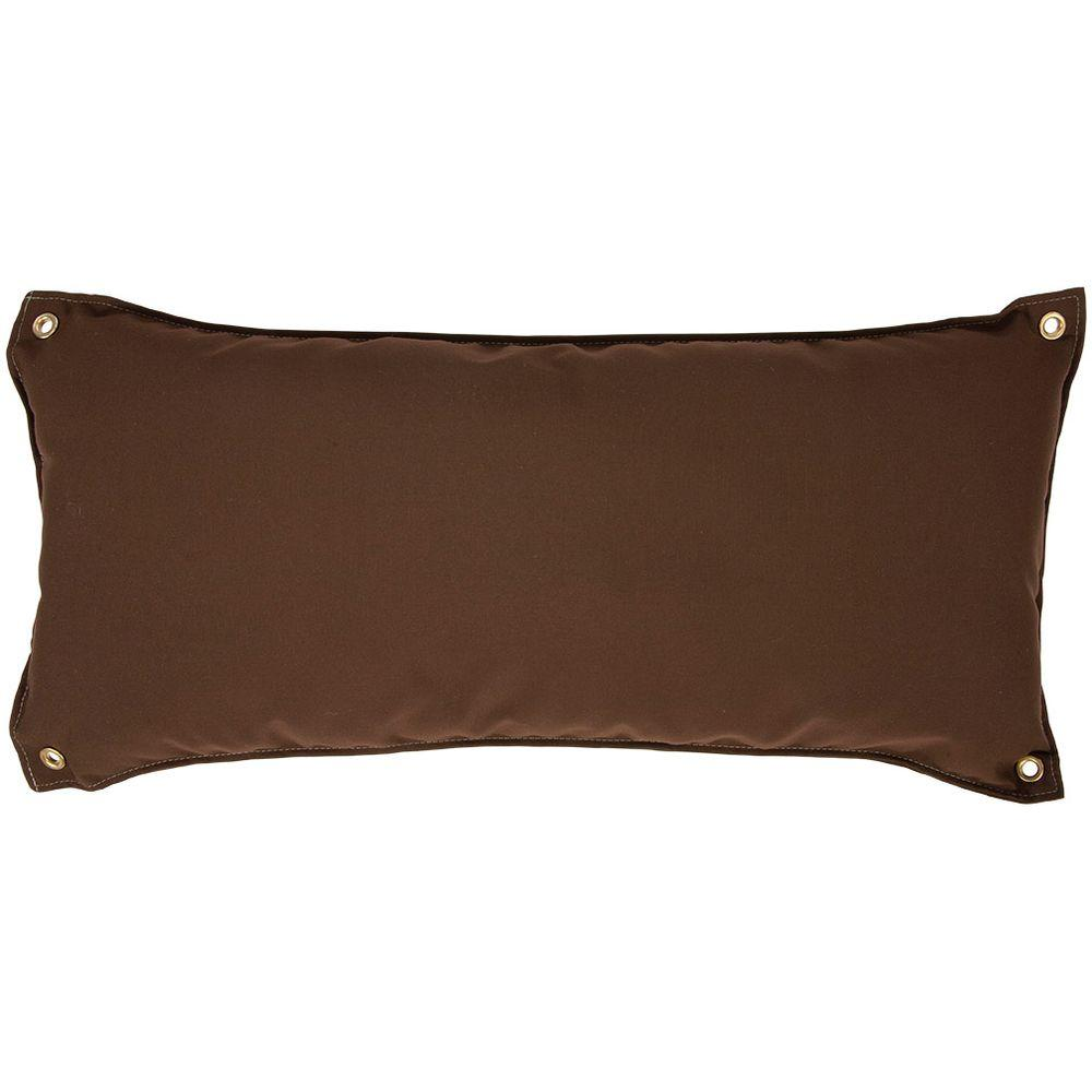 null Canvas Cocoa Traditional Hammock Pillow