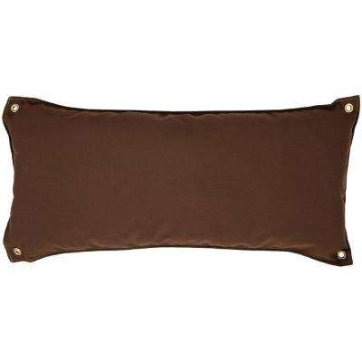Canvas Cocoa Traditional Hammock Pillow
