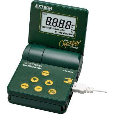 Oyster Current and Voltage Calibrator with Big Display