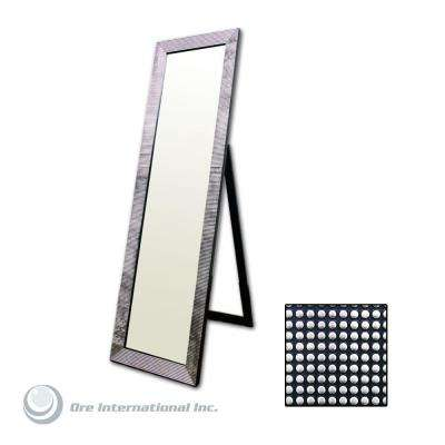 Wood - 4 & Up - Black - Mirrors - Wall Decor - The Home Depot