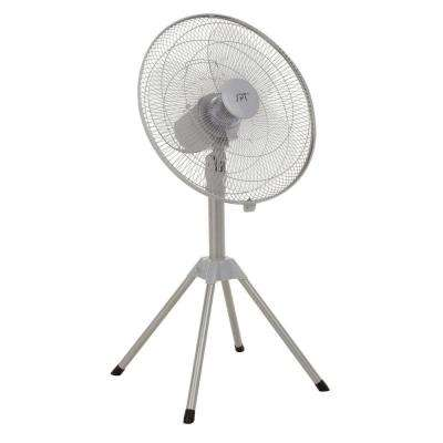 18 in. Heavy-Duty Adjustable-Height Oscillating Pedestal Fan