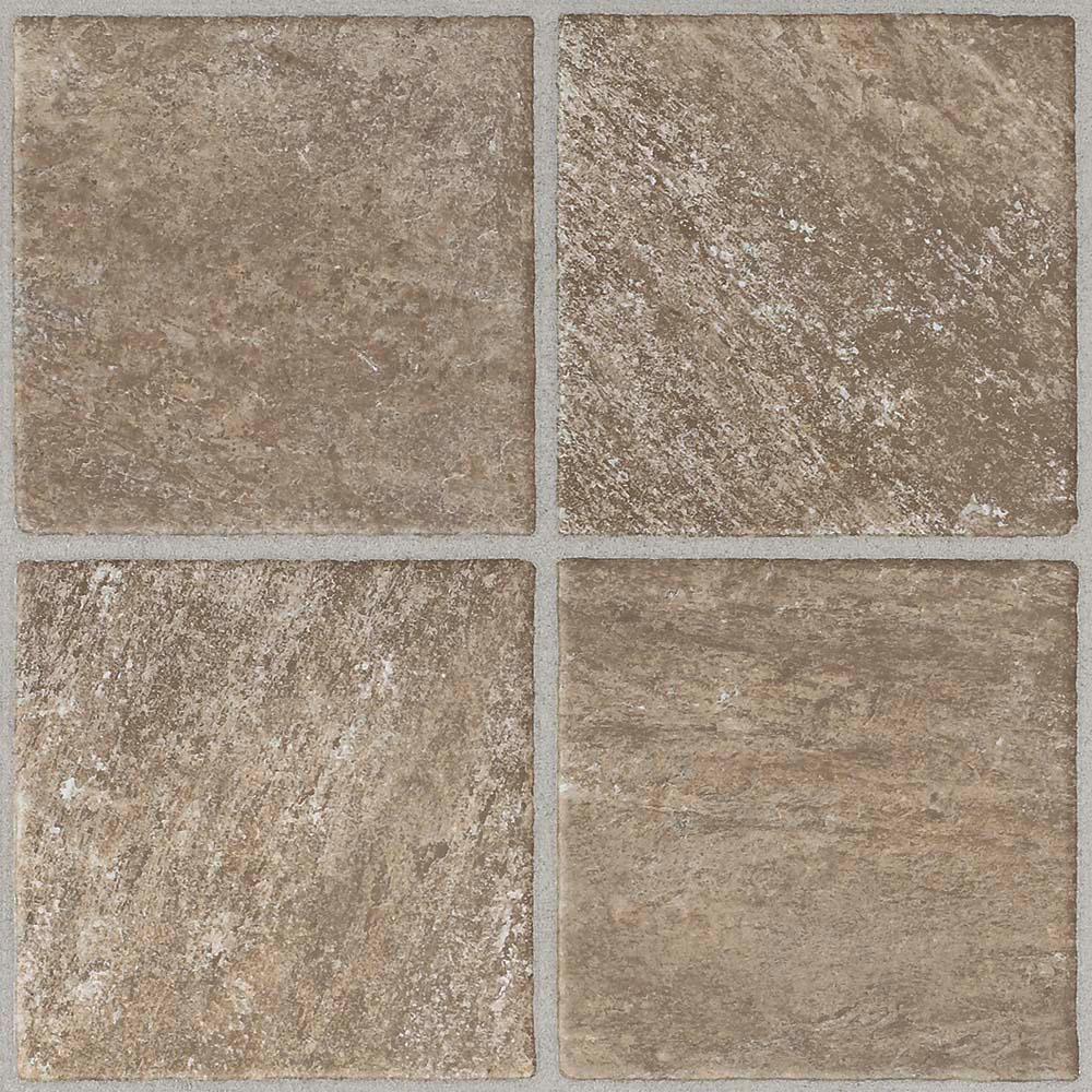 TrafficMASTER Take Home Sample - Quartz Stone Peel and Stick Vinyl Tile Flooring - 5 in. x 7 in.