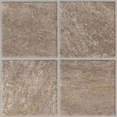 Take Home Sample - Quartz Stone Peel and Stick Vinyl Tile Flooring - 5 in. x 7 in.