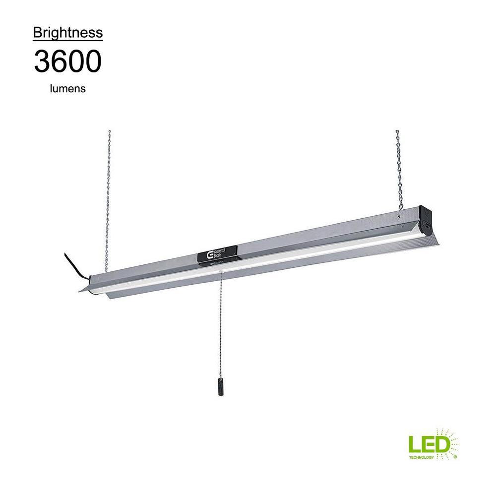 Commercial Led Shop Lights: Toggled 2-Light 4 Ft. White 5000K LED Shop Light (LED