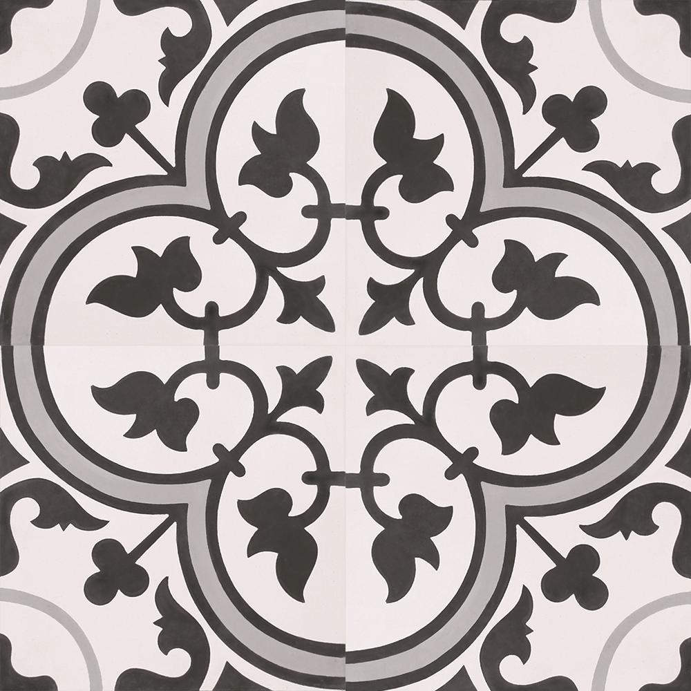 Indesign Cementine Laurel 16 In X 16 In Ceramic Floor And Wall