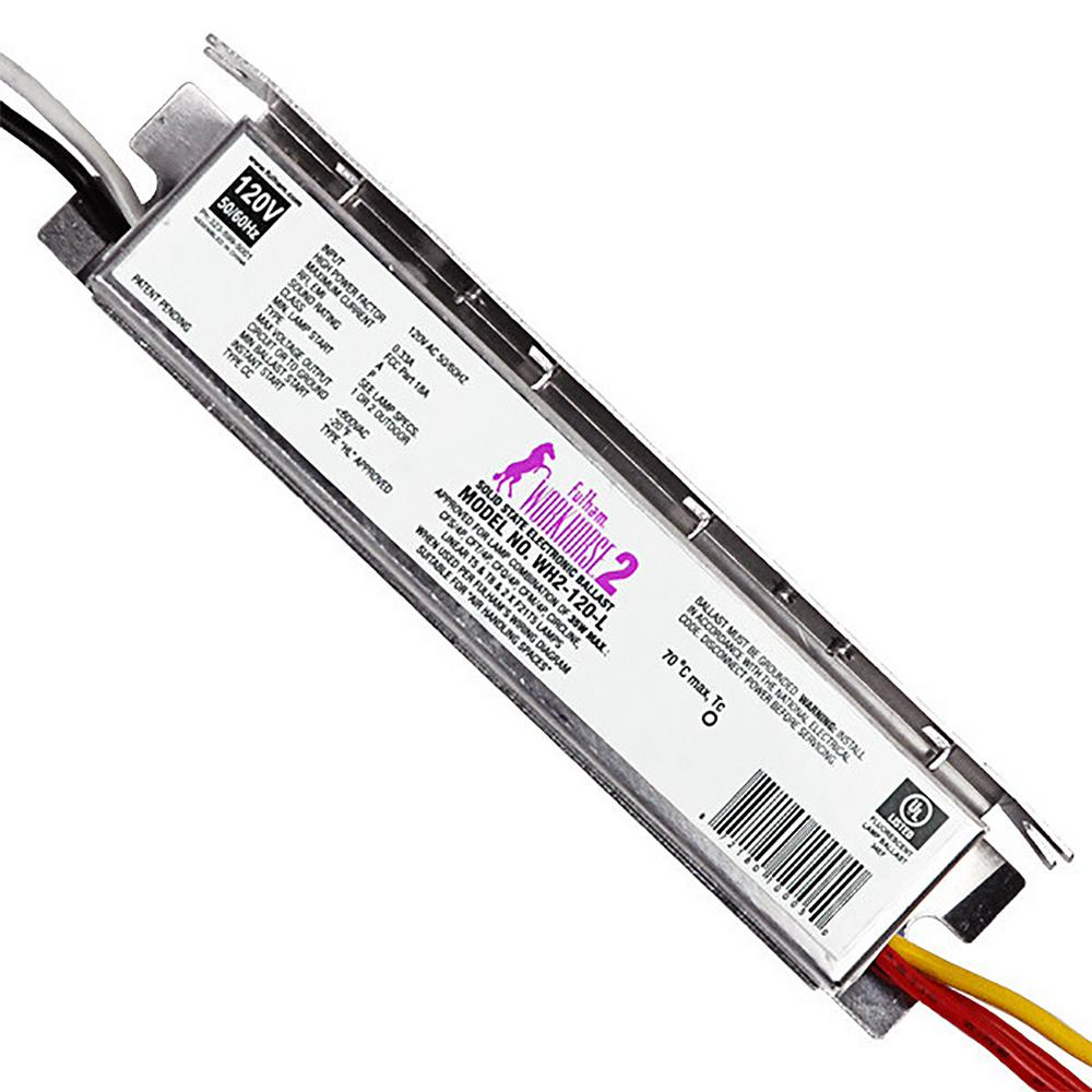 Fulham 35 Watt 120 Volt Fluorescent Electronic Ballast Wh2 L T5 Emergency Wiring Diagram The Home Depot