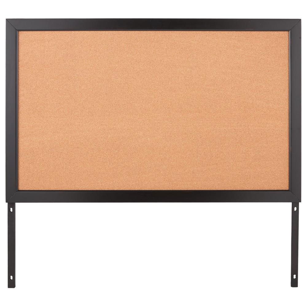 Home Decorators Collection Edinburgh 57 In W X 34 In H Modular Cork Board In Black 6237 884
