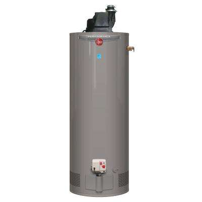 Performance 50 Gal. Tall 6 Year 42,000 BTU Liquid Propane Power Vent Tank Water Heater