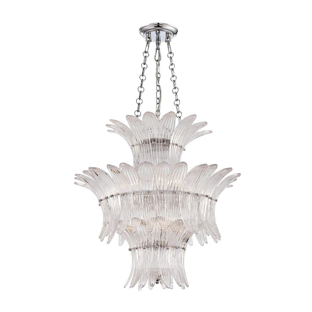 null Fiore Collection 7-Light Chrome Chandelier