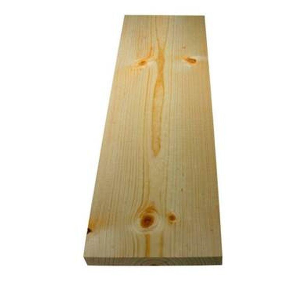 1 in. x 6 in. x 8 ft. S4S Standard and Construction Premium Kiln Dried Hem-Fir/Douglas Fir Board
