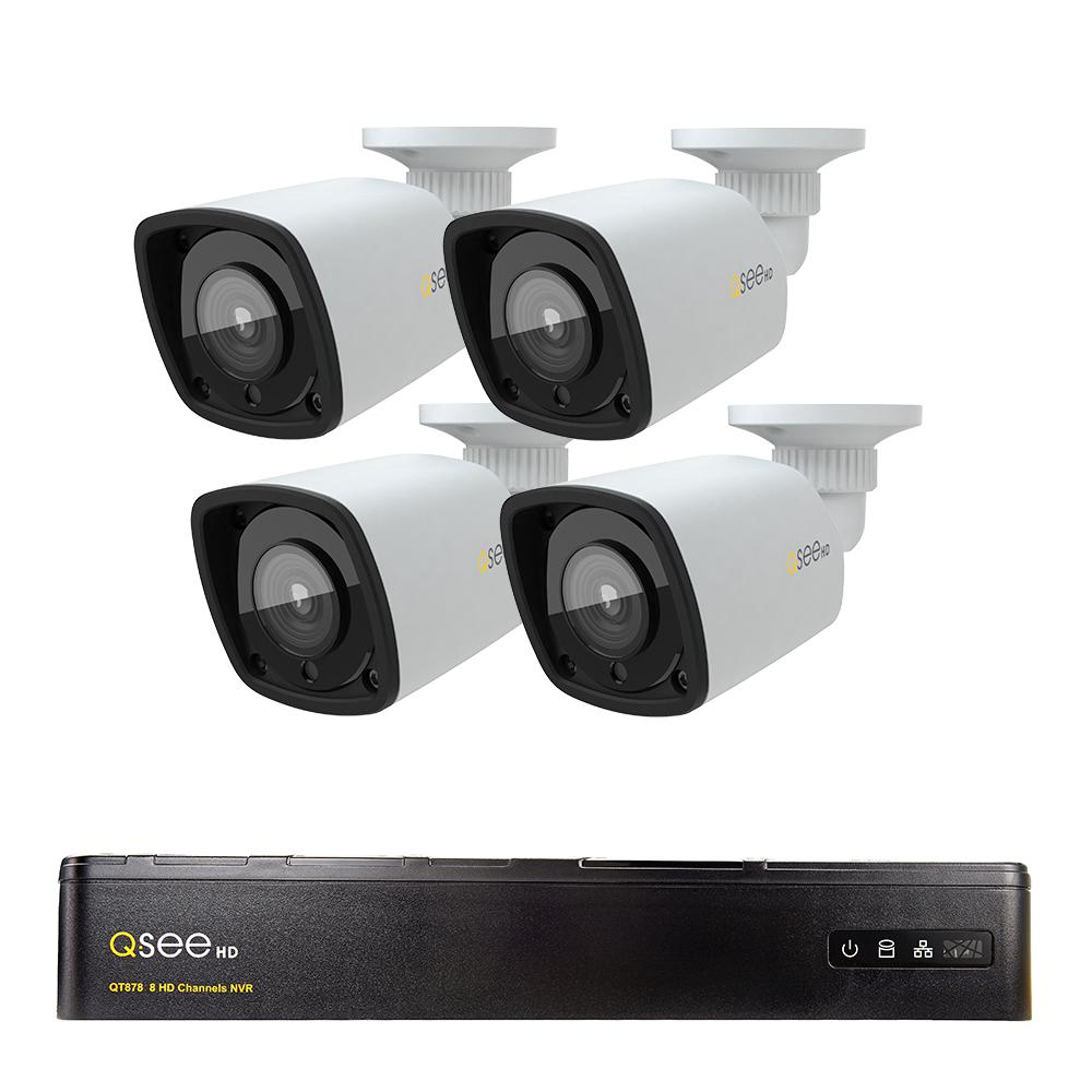 Q See 8 Channel 1080p 1tb Video Surveillance Nvr System