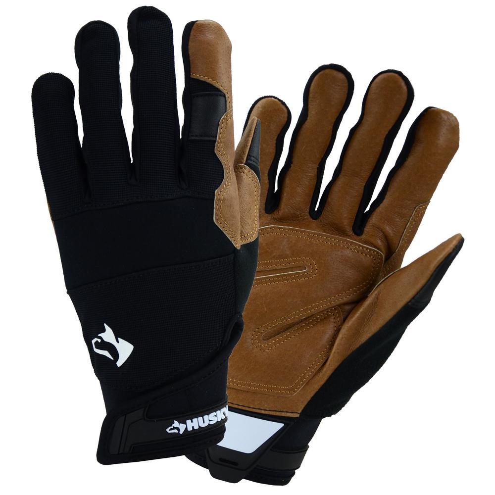 Large Hi-Dex Leather Glove