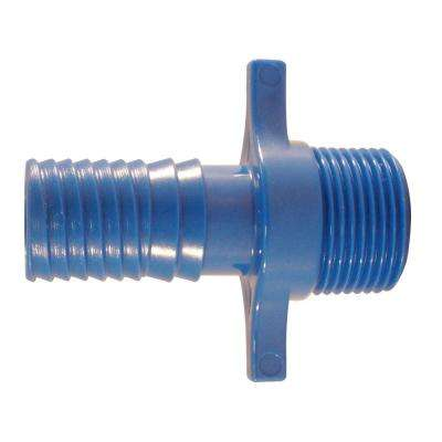 3/4 in. Blue Twister Polypropylene Insert x MPT (5-Pack)