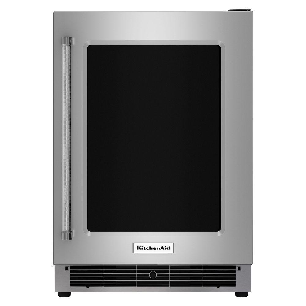 Kitchenaid 5 1 Cu Ft Undercounter Refrigerator In