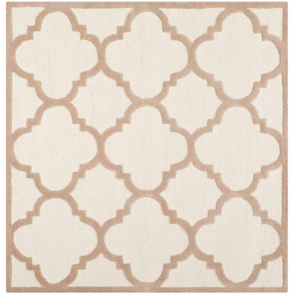 square - jute - area rugs - rugs - the home depot