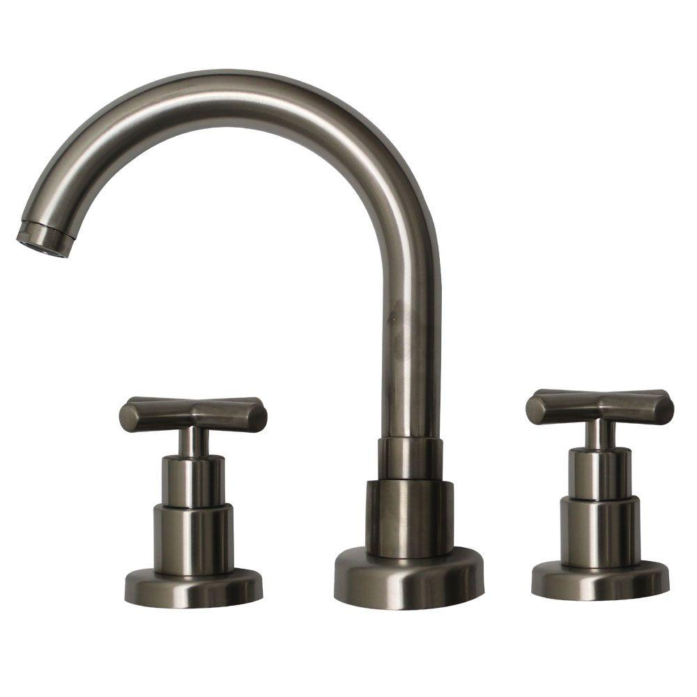 Whitehaus Collection Luxe 8 in. Widespread 2-Handle Bathroom Faucet ...