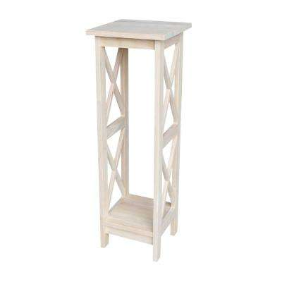 Attrayant H Unfinished Wood Plant Stand
