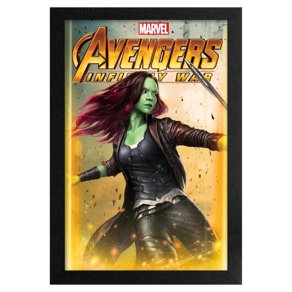 Avengers - Infinity War - Gamora 11x17 Framed Print