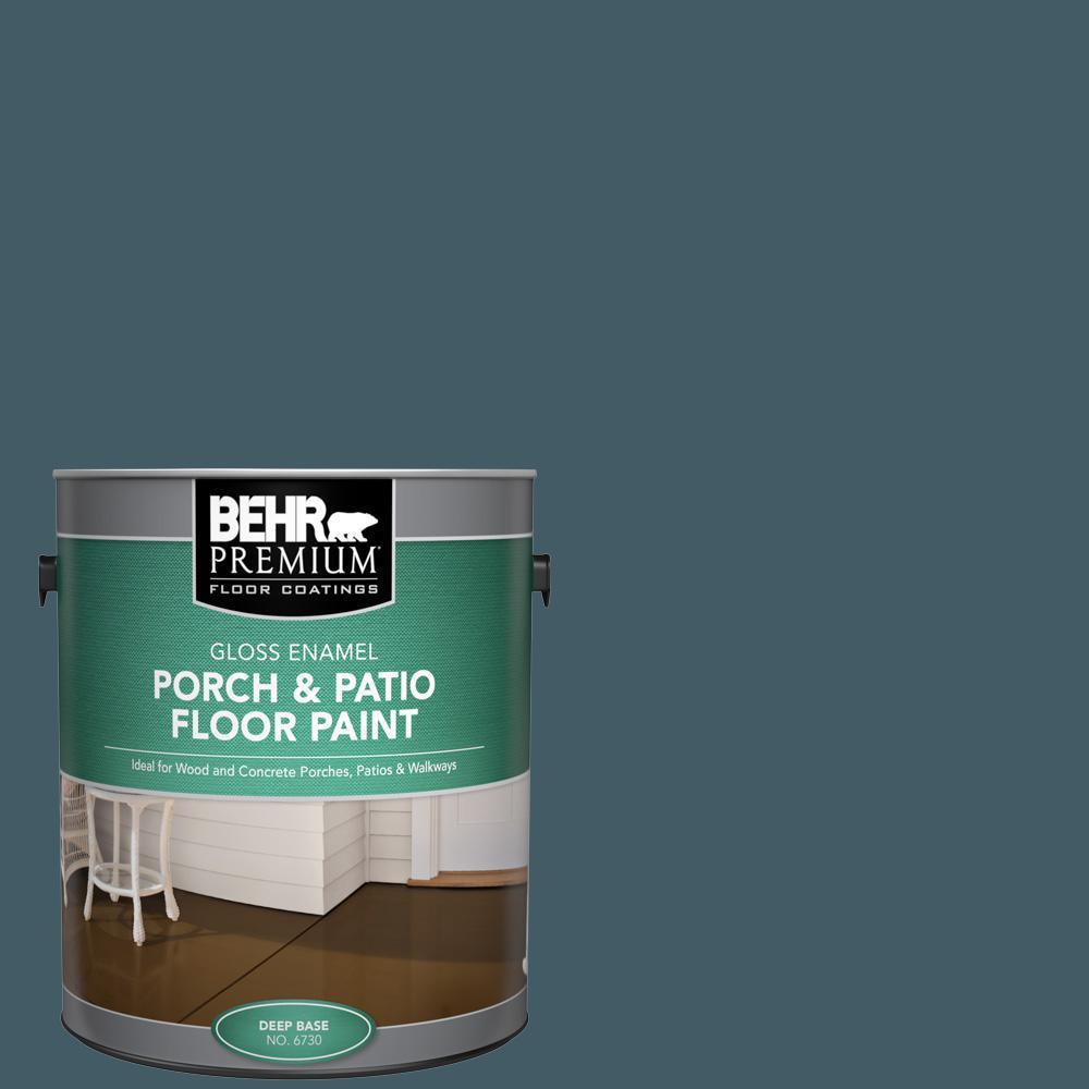 BEHR Premium 1 gal. #PPU13-19 Observatory Gloss Enamel Interior/Exterior Porch and Patio Floor Paint