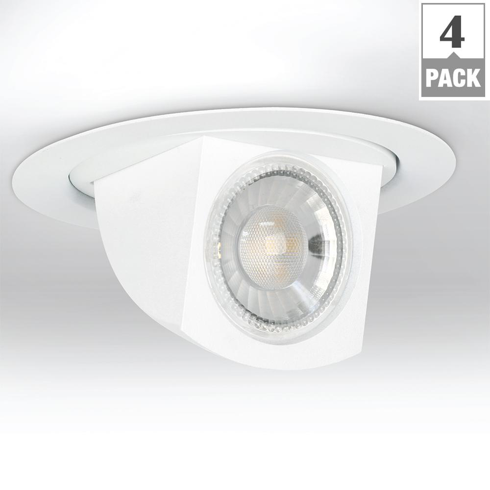 65W Equivalent Warm White 4 in. E26 Retrofit Dimmable LED Directional