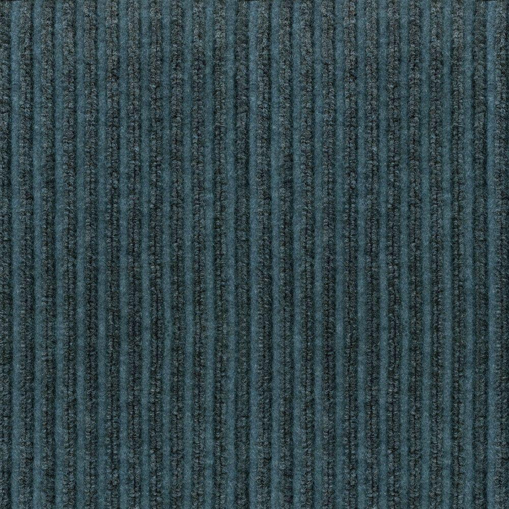 null Corduroy Charcoal and Mist 18 in. x 18 in. Carpet Tile, 16 Tiles-DISCONTINUED