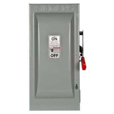 Heavy Duty 100 Amp 600-Volt 3-Pole Indoor Non-Fusible Safety Switch