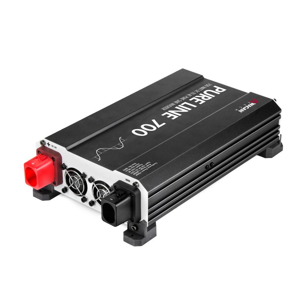 Pure Sine 700-Watt/1400-Watt ETL Inverter