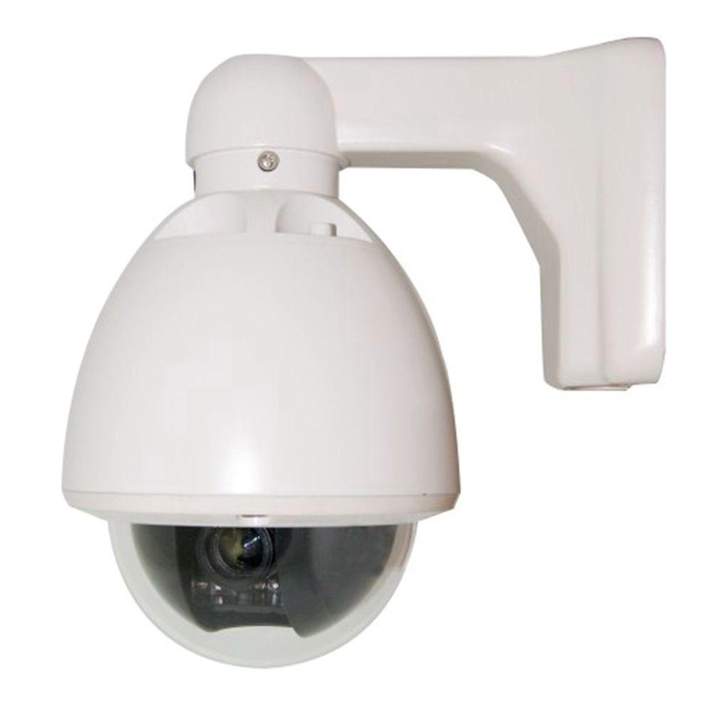 SeqCam Wired Mini Speed Dome Indoor/Outdoor Security ...